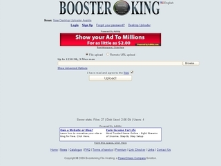Boosterking File Hosting