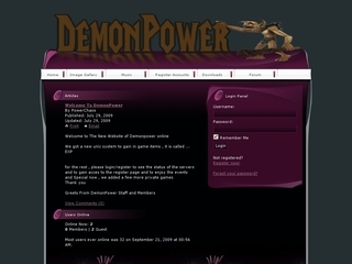 DemonPower Online